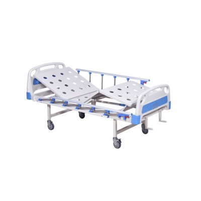 Smart Manual Hospital Bed With Two Functions (Premium)